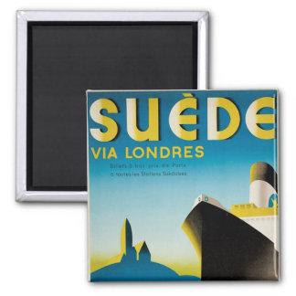Suede via Londres Square Magnet