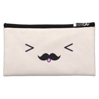 Sueded Medium Cosmetic Bag
