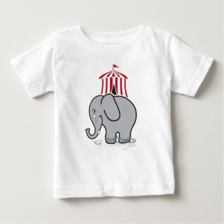Suffering circus Elephant Baby T-Shirt