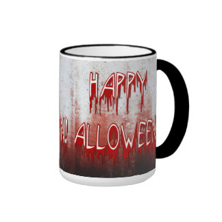 Suffering Happy Halloween Blood Stained Mug