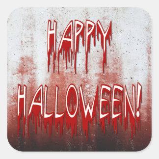 Suffering Happy Halloween Blood Stained Sticker