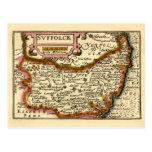"""Suffolck"" Suffolk County Map"