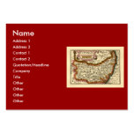 """Suffolck"" Suffolk County Map Pack Of Chubby Business Cards"