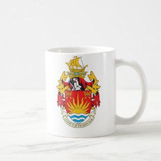 Suffolk Coat of Arms Basic White Mug