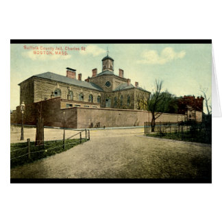 Suffolk Jail Boston Massachusetts 1915 Vintage Card