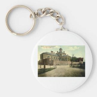 Suffolk Jail Boston Massachusetts 1915 Vintage Key Ring