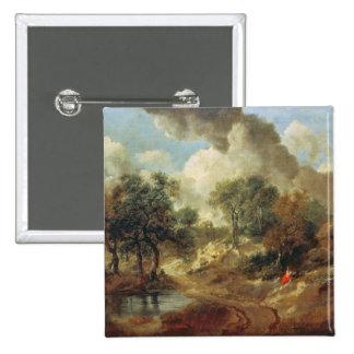 Suffolk Landscape 1748 Pinback Buttons
