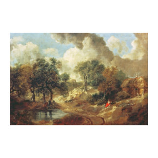 Suffolk Landscape, 1748 Gallery Wrapped Canvas