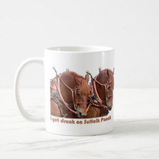 Suffolk Punch Draft Horse Mug