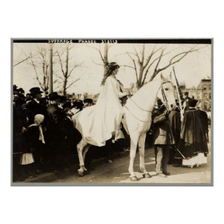 Suffrage Parade 1913 Poster