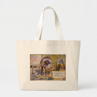 Suffrage Procession 1913 Tote Bags