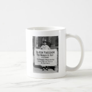 Suffragette for Alice Paul, 1917 Coffee Mug