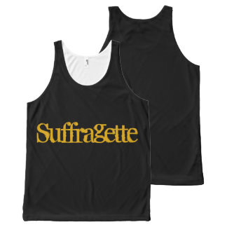 Suffragette Tank Top ! All-Over Print Tank Top