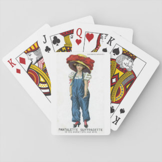 Suffragette Votes for Women Playing Cards Historic
