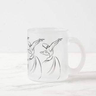 Sufi Meditation Black Coffee Mug