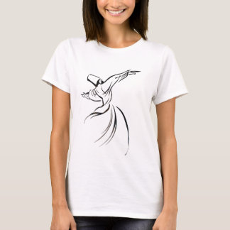Sufi Meditation (Black) T-Shirt