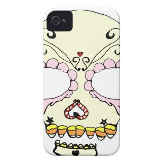 Suga Skull Candy Art iPhone 4 Case