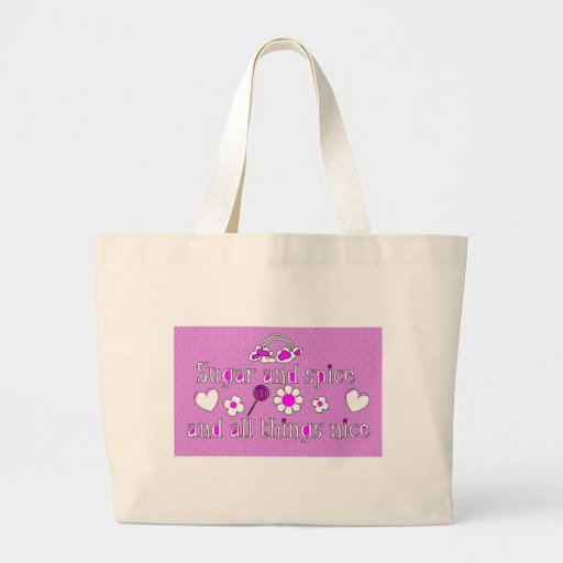 'Sugar and Spice and All Things Nice' Tote Bag