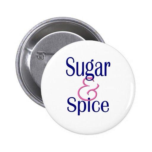 Sugar and Spice Pins