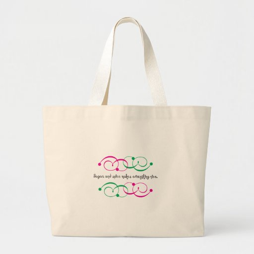 Sugar And Spice Canvas Bag