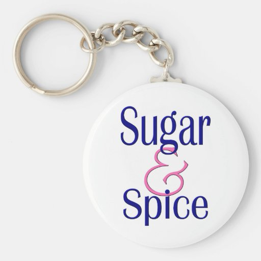 Sugar and Spice Key Chain