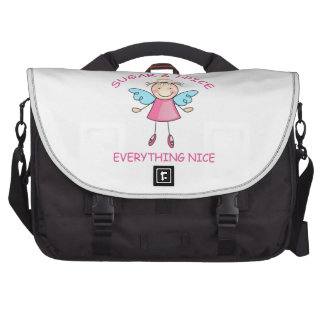 SUGAR AND SPICE LAPTOP COMMUTER BAG