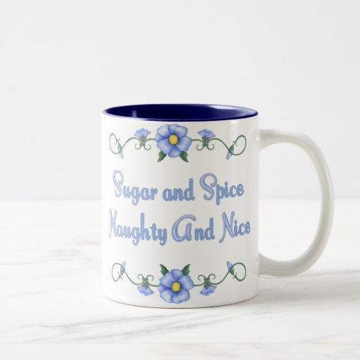 Sugar and Spice Mugs
