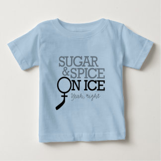Sugar And Spice On Ice Baby T-Shirt
