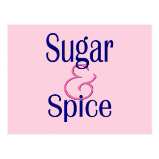 Sugar and Spice Postcards