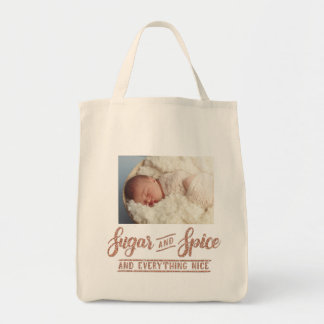 Sugar and Spice Rose Gold Calligraphy  Photo Totle