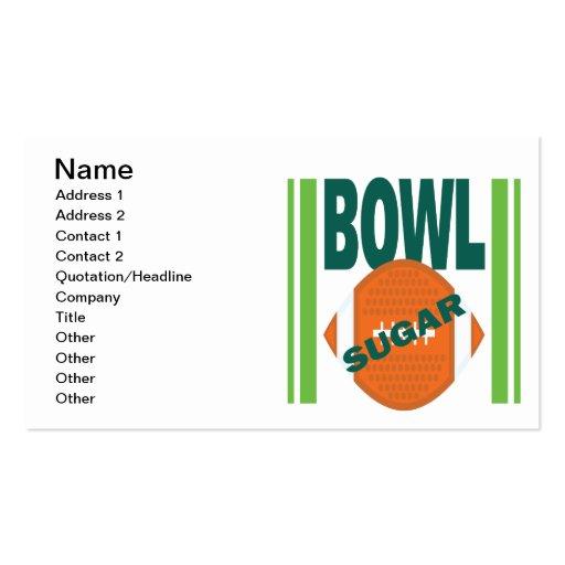 Sugar Bowl Business Card