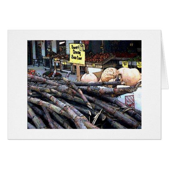 Sugar Cane Card