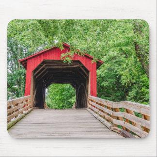 Sugar Creek Covered Bridge - Glenarm, Illinois Mouse Pad