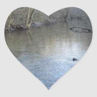 Sugar Creek Heart Sticker
