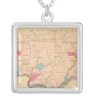 Sugar Creek Township Silver Plated Necklace