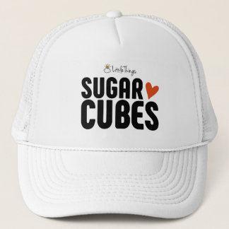 Sugar Cube Trucker Hat With Sugar Cube Logo