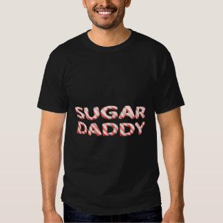 SUGAR DADDY candy cane design Tee Shirts