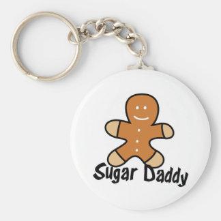Sugar Daddy Gingerbread Man Key Ring