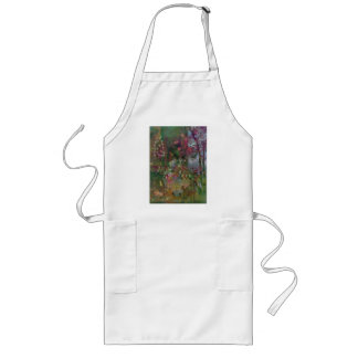 Sugar-Dusted Christmas Fruit Long Apron