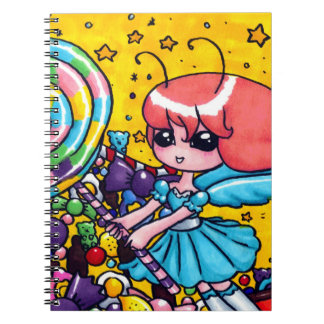Sugar fairy notebooks