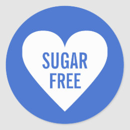 Sugar free gifts on zazzle uk sugar free dietary restrictions culinary label negle Images