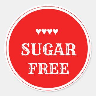Sugar Free Sticker