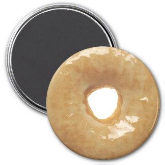 Sugar-Glazed Doughnut 7.5 Cm Round Magnet