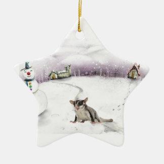 Sugar glider Christmas ornament