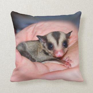 Sugar glider pillow throw cushions