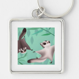 sugar gliders key ring