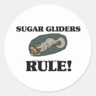 SUGAR GLIDERS Rule! Round Sticker