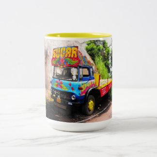 Sugar lorry Two-Tone coffee mug