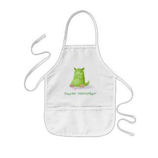 Sugar Monster kid's apron