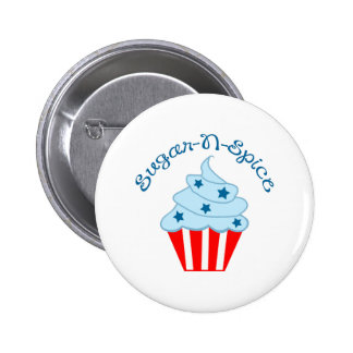 SUGAR N SPICE PINBACK BUTTONS